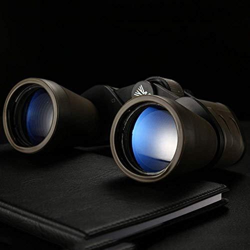 LNHJZ Binoculares 20X50 Verde Aceite telescopio de Alta definición Binocular visión Nocturna con Poca luz