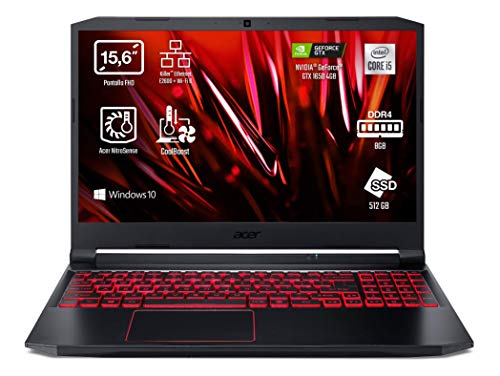 Acer Nitro 5 AN515-55 - Portátil Gaming 15.6