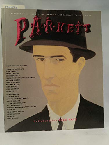 Parkett. No. 21. 1989. Kunstzeitschrift. Art Magazine. Collaboration Alex Katz. Insert: William Wegman.