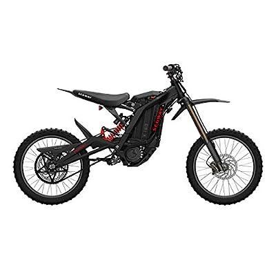 SEGWAY Ninebot Electric Dirt Bike Motocross, Dirt eBike X160, Mighty Torque and Super Lightweight, Black, Sliver, Red, Blue