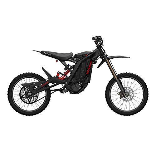 SEGWAY Ninebot Electric Dirt Bike Motocross, Dirt eBike X160, Mighty Torque and Super Lightweight, Black, Sliver, Red, Blue, Extra Large (AA.00.0000.22)