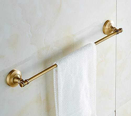 Bad Handtuchhalter Wandmontage Antiker Handtuchhalter Europäisches Badzubehör Antiker Handtuchhalter aus Messing-C Abschnitt 50 cm