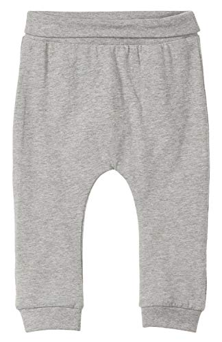 Name It Nbntemolus Pant Noos Pantalon De Sport, Gris (Grey Melange), 74 Mixte bébé