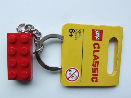 LEGO Classico: Rosso Mattone Portachiavi