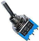 AERZETIX: Interruttore a leva switch SP3T ON-OFF-ON 3A/250V 3 posizioni C10577