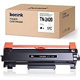 BONINK Compatible con Brother TN2420 TN-2420 Tóner Negro para MFC-L2710dw MFC-L2710dn MFC-L2750dw HL-L2350dw HL-L2370dn HL-L2375dw DCP-L2530dw Impresora