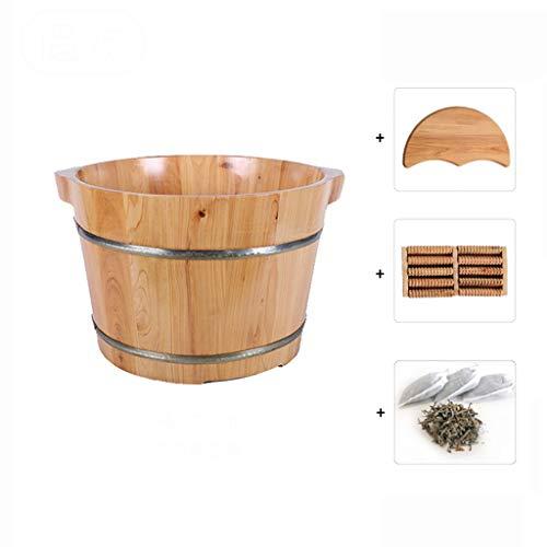 CHY houten voet bad vat gezondheid massage voet bekken duurzame voet massage spa sauna bad voetbad bad voor handen en voeten