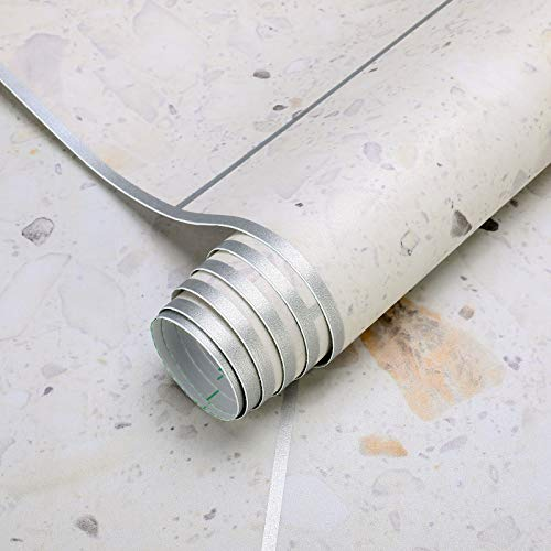 Suelo de vinilo autoadhesivo 0,6 x 5 m, protección para el suelo, resistente al desgaste, lámina protectora