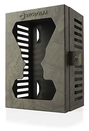 SECACAM Metallgehäuse HomeVista/Raptor Schutzgehäuse für Wild- und Überwachungskameras grün-texturiert
