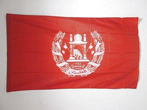 AZ FLAG Flagge KÖNIGLICHE STANDARTE VON Afghanistan 1931-1973 150x90cm - AFGHANISCHE Fahne 90 x 150 cm Scheide für Mast - flaggen Top Qualität