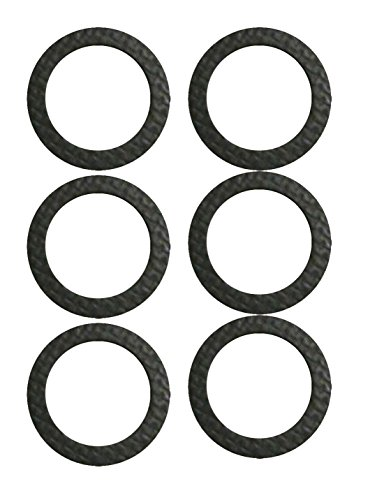 Review Of Mission Automotive 6-Pack Marine Drain Screw Gasket - Compatible with Most Lower Units and...