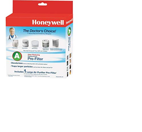 Price comparison product image Honeywell HRF-AP1 Universal Carbon Pre Filter, Black, 4