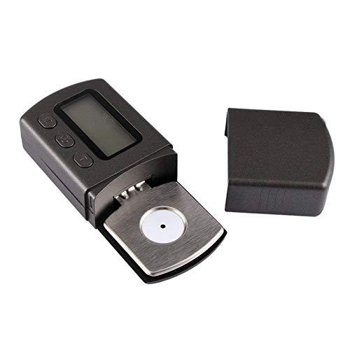 Smart Digital Báscula con Tocadiscos digital portátil Stylus Force Scale Meter Gauge Retroiluminación LCD Seguimiento de alta precisión para discos de vinilo Tonearm Phono