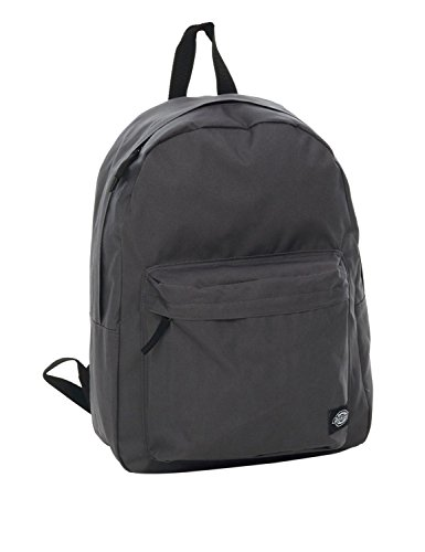 Dickies Rucksack Daypack Indianapolis, Charcoal Grey, 45 x 35 x 6 cm, 15 Liter, 08 410175