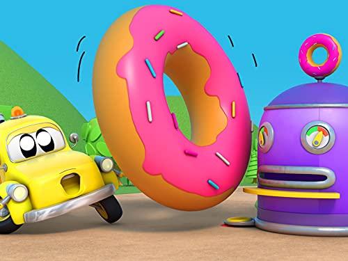 Gigantische Donuts / Die Geisterjagt / Das Baby Feuerwehrauto / Das Roboter polizeiauto