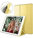 iPad Mini Case for iPad Mini 3/2/1, DTTO Ultra Slim Lightweight Smart Case Trifold Cover Stand with Flexible Soft TPU Back Cover for iPad Apple Mini, Mini 2, Mini 3 [Auto Sleep/Wake] (Canary Yellow)