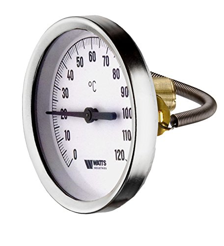 Cornat T593698 Anlege-Zeigerthermometer, 63 mm