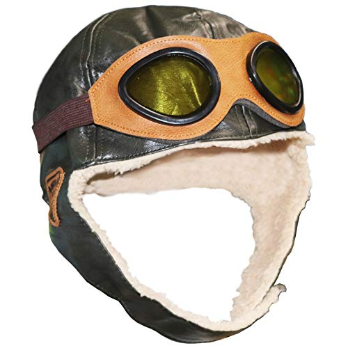 10 best fighter pilot leather helmet for 2020