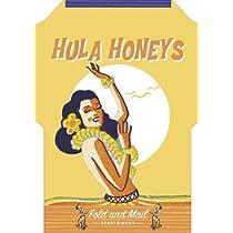 Hula Honeys: Fold and Mail Stationery