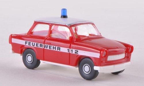 Trabant 601 S, Feuerwehr , Modellauto, Fertigmodell, Wiking 1:87