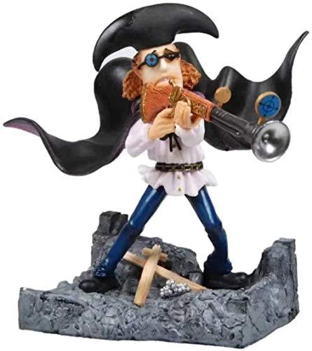 ANZHCZ Anime One Piece Gk P.O.P DX Van Auger PVC Figura de acción Modelo Muñeca de Juguete Regalos 17Cm Colección de Personajes de Dibujos Animados Modelo Muñeca de Juguete Regalos