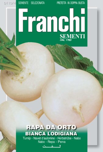 Seeds of Italy Ltd. Franchi Graines de navet d'automne