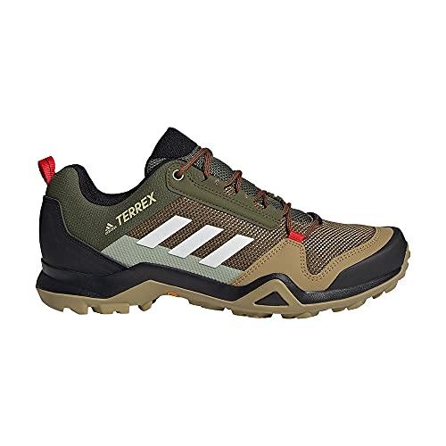 adidas Herren Terrex AX3 Trekking- & Wanderhalbschuhe, PINSIL/BALCRI/ROJINT, 43 1/3 EU