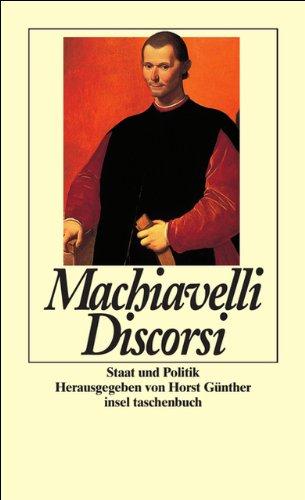 Discorsi: Staat und Politik (insel taschenbuch)