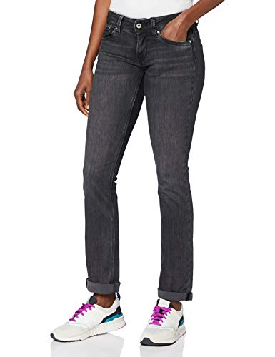 Pepe Jeans Saturn' Vaqueros, Azul (Denim WP), 34W / 34L para Mujer