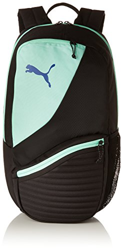 Puma 75573 Backpack, Unisex Adulto, Black/Biscay Green, OSFA