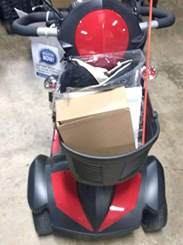 Review Of Drive Ventura DLX 3-Wheel Scooter Including 5 Year Extended Warranty (18 Captain's Seat...
