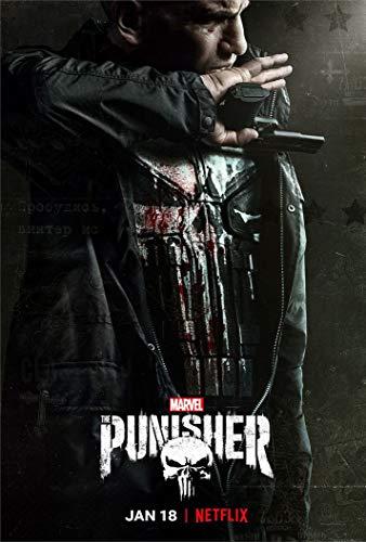 Wayne Dove The Punisher Season 2 Póster en Seda/Estampados de Seda/Papel Pintado/Decoración de Pared 576000724