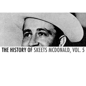 The History of Skeets Mcdonald, Vol. 5