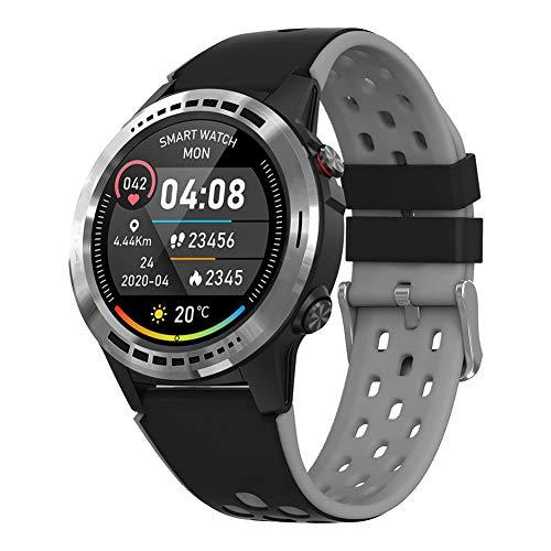 AEF Smartwatch para Hombres Mujeres Niños, Reloj Inteligente Impermeable IP68 con Monitor De Sueño Podómetro Caloría GPS para Deporte,3