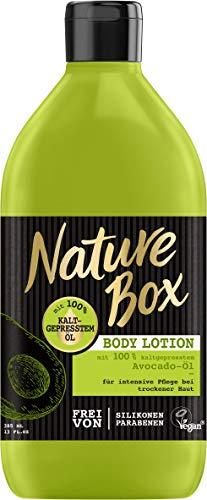 Nature Box Body Lotion Avocado-Öl, 3er Pack (3 x 385 ml)