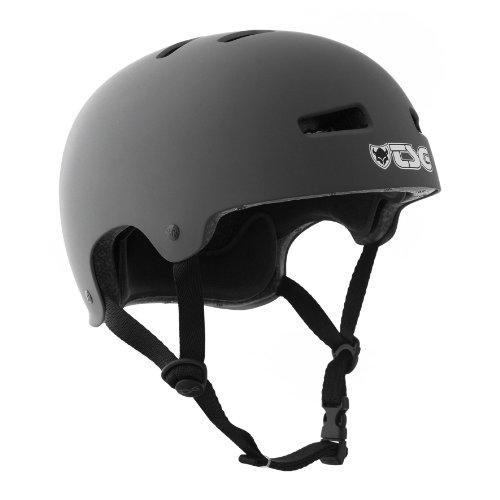TSG Fahrradhelm/Skateboard Helm Evolution mattgrau (flat-grey) – L/XL