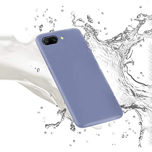 ZHYLIN telefoonhoesje vloeibaar dun zacht telefoonhoesje voor Samsung J4 J6 Plus J4 J6 2018 zachte siliconen cover effen Candy kleur voor Samsung J7 Prime J8 Back Cover