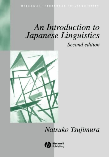 Tsujimura Introduction to Japanese Linguistics 2e