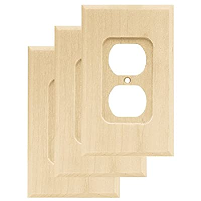 Franklin Brass Square Single Duplex Wall Plate/Switch Plate/Cover