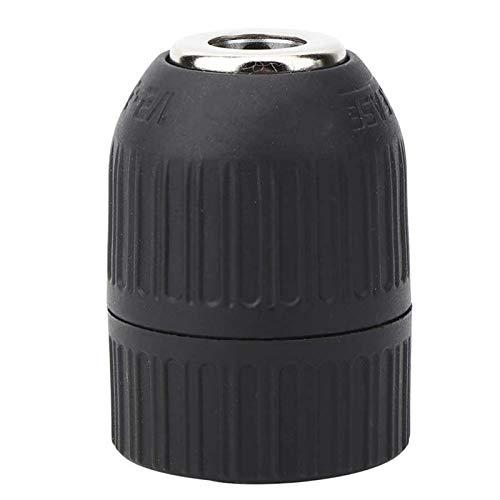 Adecuado para Torno Mini Auto-apriete sin Llave Taladro Drill clamp 2-13mm / 0.8-10mm afianza la Gama Torno fresadora Portabrocas Broca helicoidal (Color : 2 13mm)