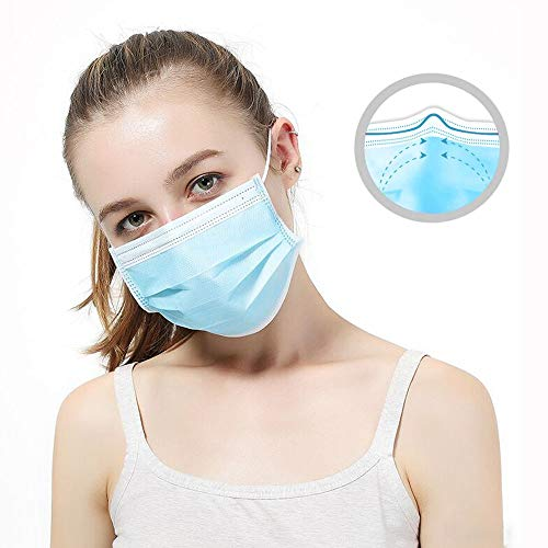 Face Masks 3-Layer 50Pcs/Box, Delivery For US FBA