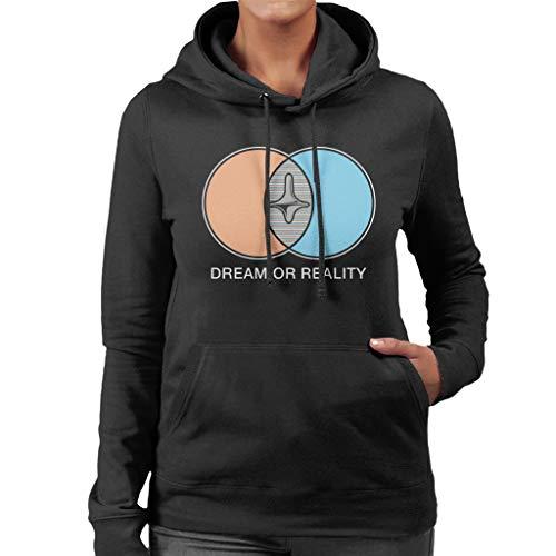 Cloud City 7 Inception Dream Or Reality Women's Hooded Sweatshirt