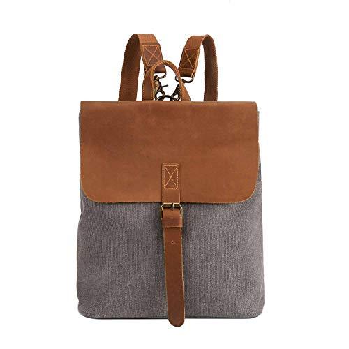Neuleben Women's Backpack Grey Grey One Size