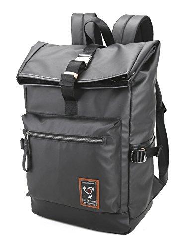 Arctic Hunter Black Travel School Rucksack,Waterproof Multipurpose Backpack 18'