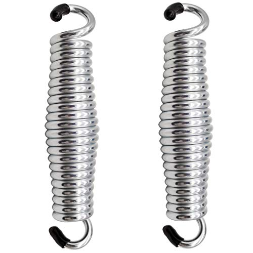Porch Swing Springs HammockChair Spring  1500Lbs Heavy Duty Suspension Hanger Ceiling Mount Spring Pack of 2