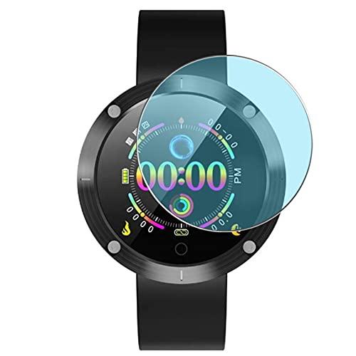 Vaxson 3 Stück Anti Blaulicht Schutzfolie, kompatibel mit OUKITEL W5 Smartwatch smart watch, Displayschutzfolie Anti Blue Light [nicht Panzerglas]