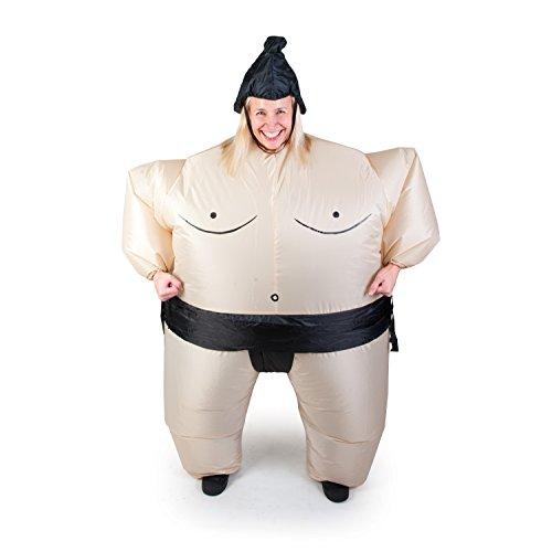 Inflatable Customes - Traje de Adulto de Sumo, Talla única (Importado de Japón)