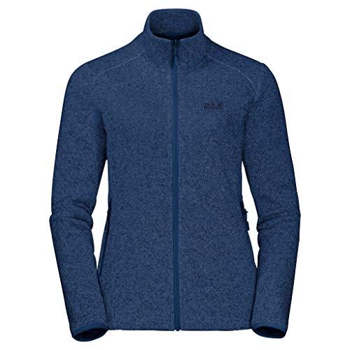 Jack Wolfskin Damen Caribou Track Jacket W Fleece-Sweatshirt, Porcelain Blue, S