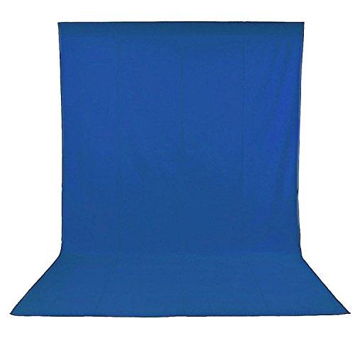 Neewer® 3 x 3.6M / 10 x12ft Foto Studio 100% Reine Musselin Faltbare Hintergrund-Hintergrund für Fotografie, Video und Fernsehen (nur Hintergrund) - BLAU