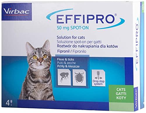 Virbac 104836022 Effipro Duo Gatto 4Pip